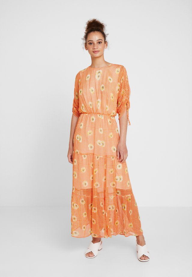 SADIE DRESS - Długa sukienka - orange