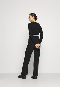 Calvin Klein Jeans - MONOCHROME MILANO - Long sleeved top - black - 2