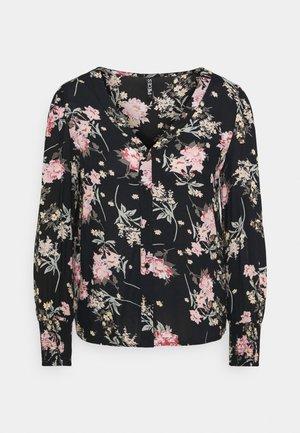 PCPAOLA SHIRT - Long sleeved top - black
