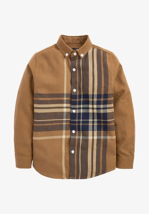 SHORT SLEEVE - Camicia - brown