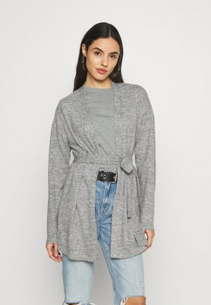 PCPAM  - Cardigan - light grey melange