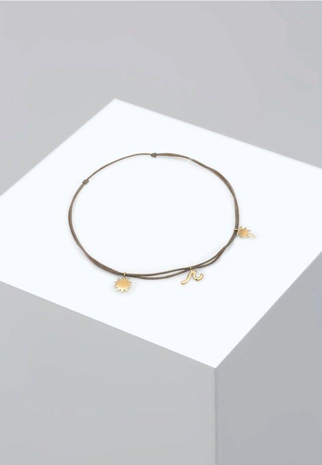 FUSSSCHMUCK PALME BEACH BOHO  - Armband - gold