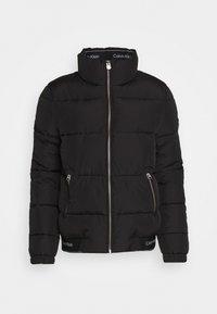 Calvin Klein - LOGO PUFFER JACKET - Winter jacket - black - 5