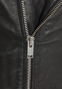 Selected Homme - SLHICONIC BIKER  - Leather jacket - black - 7