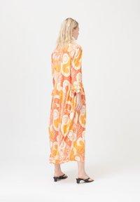Dea Kudibal - ROSANNA  - Day dress - khanga orange - 1