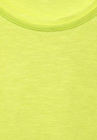 Cecil - Basic T-shirt - gelb - 4