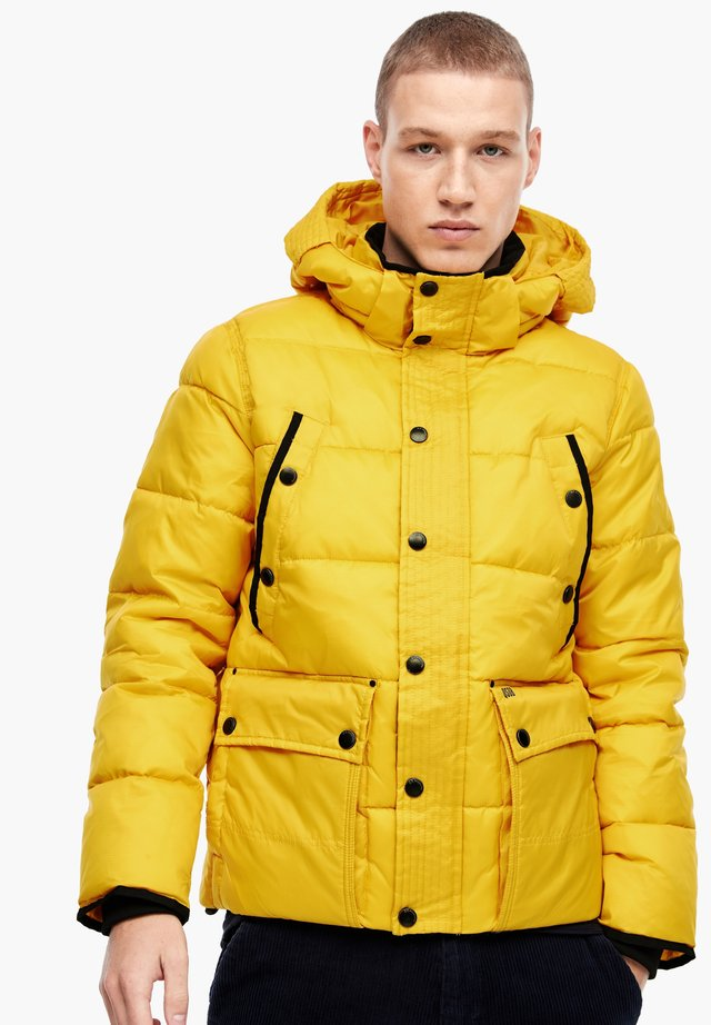 LANGARM - Winter jacket - yellow