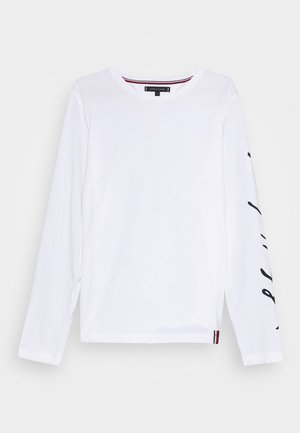 SIGNATURE SLEEVE TEE - Camiseta de manga larga - white
