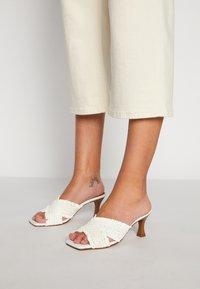 mtng - ANA - Heeled mules - white - 0