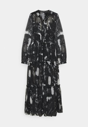 HINES A DRESS - Robe longue - grey/black