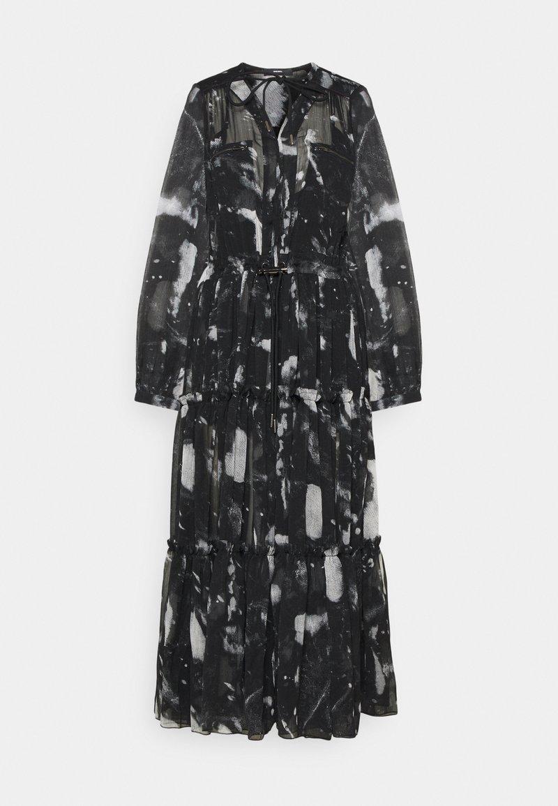 Diesel - HINES A DRESS - Maxi šaty - grey/black