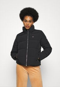 Tommy Jeans - MODERN PUFFER JACKET - Winter jacket - black - 0