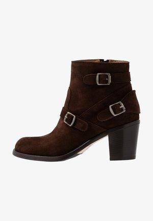 TRIALMASTER  - Ankle boots - dark brown