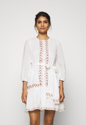 AFTERNOON DELIGHT MINI DRESS - Vestido informal - off-white
