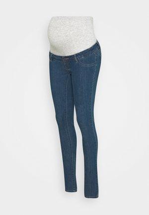 MLJULIA  - Slim fit jeans - med blue denim