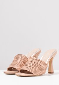 Head over Heels by Dune - MAE - Heeled mules - nude - 4