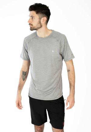 SHORT SLEEVE - Basic T-shirt - grey