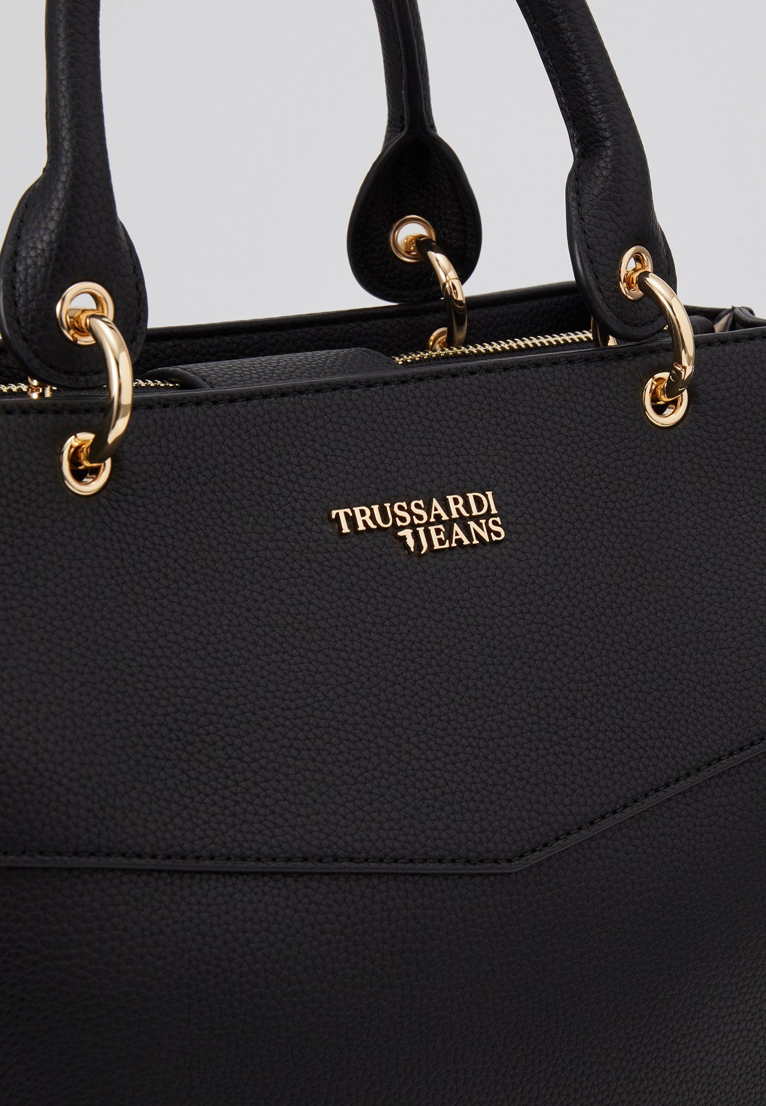 Trussardi Jeans CHARLOTTE TOP HANDLE TUMBLED Håndveske