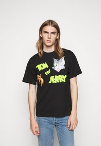 GCDS - TOM & JERRY TEE - Print T-shirt - black - 0