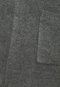 CAPSULE by Simply Be - COSY EDGE TO EDGE - Cardigan - charcoal - 2