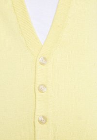 Zign - UNISEX - Cardigan - light yellow - 4