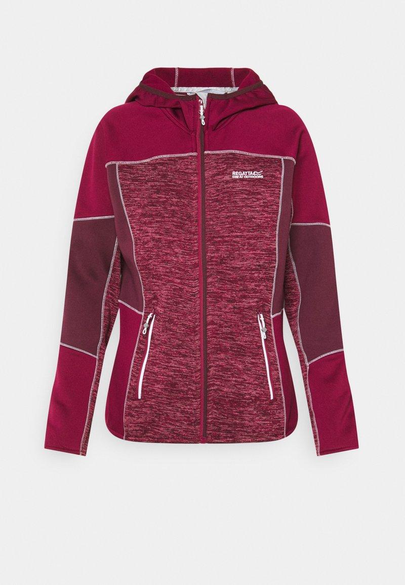 Regatta - WALBURY II - Fleece jacket - beetroot/fig