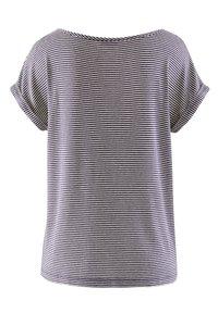 Alba Moda - Print T-shirt - marineblau,orange - 5