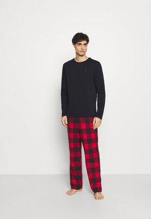 PANT TEE SET - Pyjama set - blue