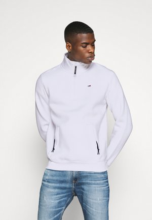 DETAIL MOCK NECK - Sweatshirt - white