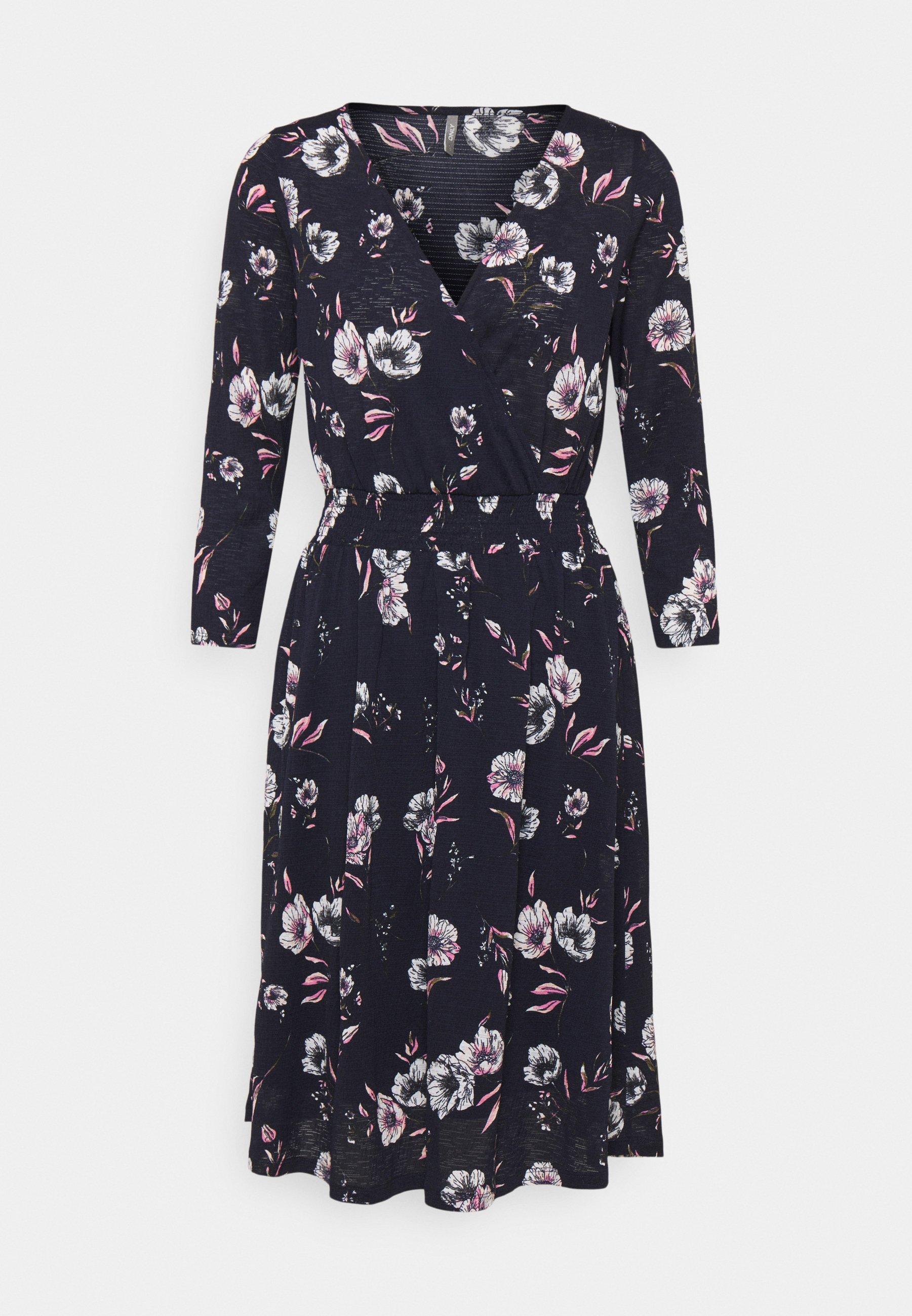 Women ONLPELLA WRAP DRESS  - Day dress