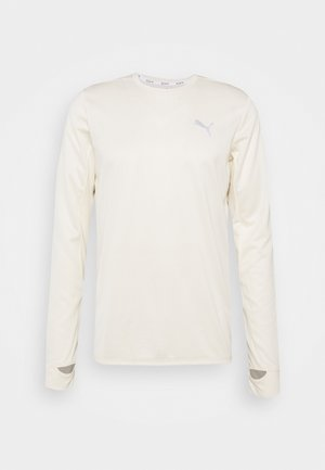 RUN FAVORITE TEE - Long sleeved top - eggnog