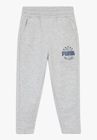 Puma - Tracksuit bottoms - light gray heather - 0