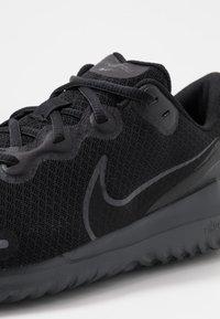 Nike Performance - RENEW RIDE - Neutral running shoes - black/dark smoke grey - 5