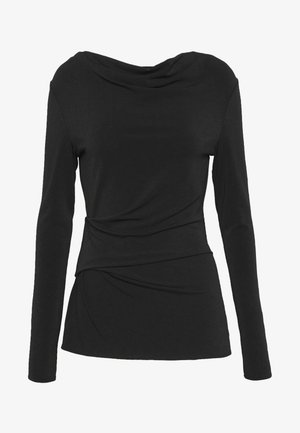 KANIA - Pitkähihainen paita - black