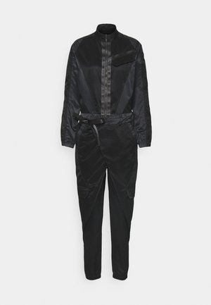 FLIGHTSUIT FUTURE - Jumpsuit - black/off noir/black oxidized