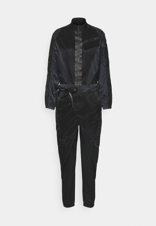 FLIGHTSUIT FUTURE - Jumpsuit - black/off noir/black oxidized