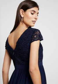 Chi Chi London Maternity - GLYNNIS DRESS - Vestito elegante - navy - 5