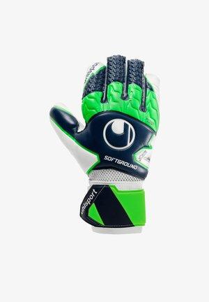 Goalkeeping gloves - blaugruenweiss
