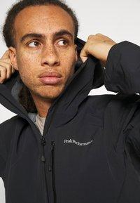Peak Performance - XENON JACKET - Hardshell jacket - black - 3