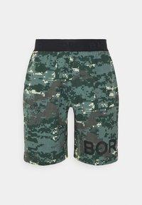 Björn Borg - SHORTS - Sports shorts - duck green - 0