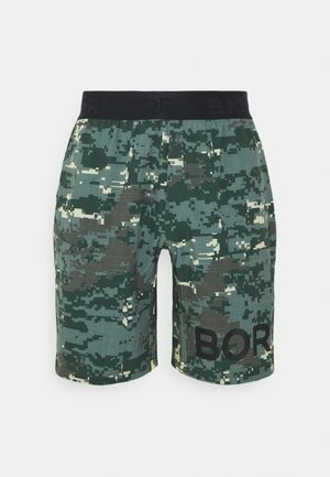 SHORTS - Sports shorts - duck green