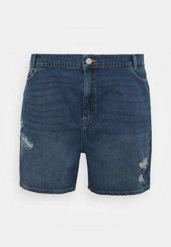 NMLOTTIE SKATE  - Shorts vaqueros - medium blue