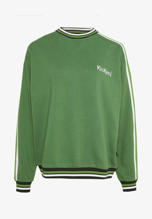 OVERARM STRIPE MULTI - Sweatshirt - green
