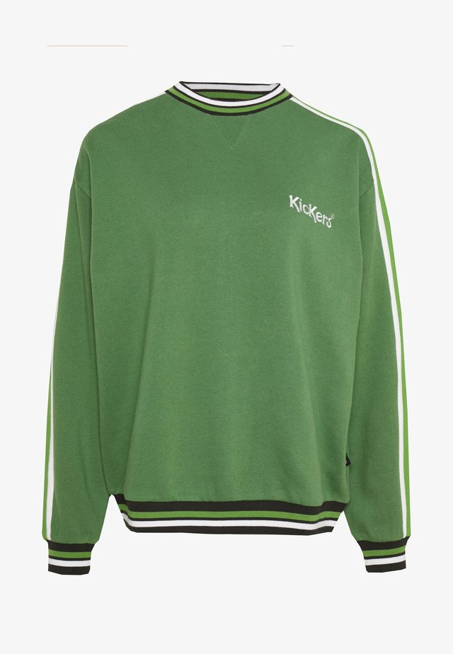 OVERARM STRIPE MULTI - Sweatshirt - green