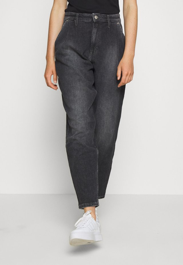 RETRO MOM  - Jeans Relaxed Fit - ginger grey