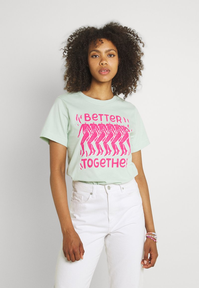 Dedicated - MYSEN BETTER TOGETHER  - Print T-shirt - surf spray