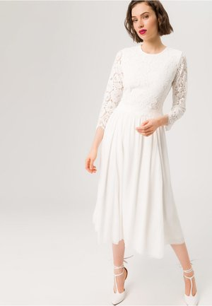BRIDAL 2IN1 MIDI  - Juhlamekko - snow white