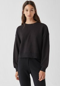 PULL&BEAR - 2 PACK - Felpa - black - 2