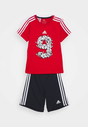 SET - Sports shorts - red/white
