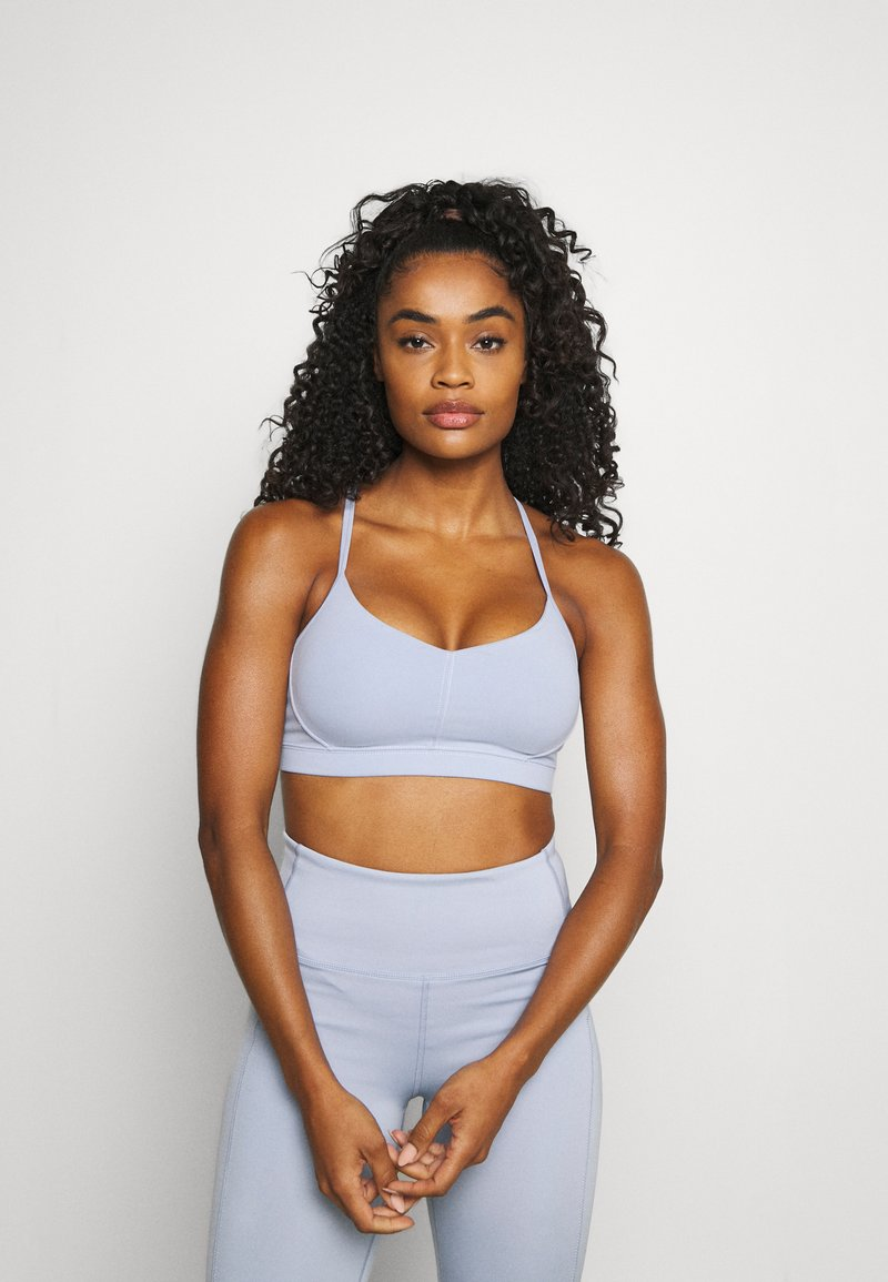 Cotton On Body - STITCHED TO PERFECTION CROP - Light support sports bra - baltic blue